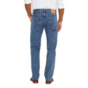 New Levis 501 Original Fit Straight Leg Jeans 46